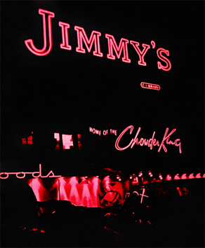 Jimmy's at Night Chowder King