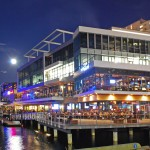 Liberty Wharf Boston July 2011, Jerry Remy's, Del Frisco's